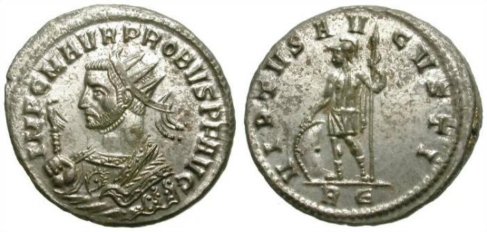 Ancient Coins - PROBUS. AE ANTONINIAN. ROME MINT. BEAUTIFUL!