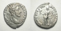 Ancient Coins - Commodus. Denar. Good relief. Attractive coin