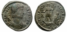 Ancient Coins - CONSTANS (337-350)  MAIORINA. THESSALONICA. ATTRACTIVE REVERSE.