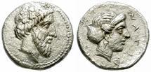 Ancient Coins - NAGIDOS. 420-380 BC. AR STATER. RARE. ATTRACTIVE.