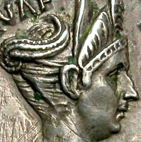 Ancient Coins - MATIDIA AUGUSTA, AD 112-119. AR DENARIUS. RARE AND EXTREMELY FINE PORTRAIT.