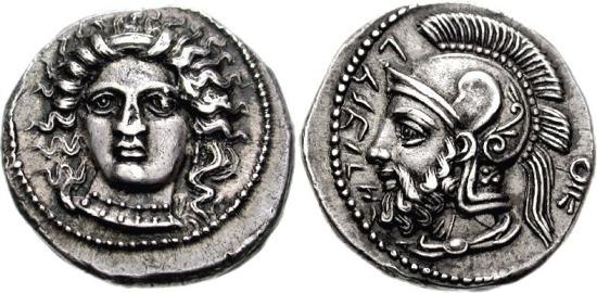 Ancient Coins - TARSOS. CILICIA. 379-374 BC. AR STATER. FANTASTIC PROVENANCE. SNG LEVANTE 69 379-374 BC v. Chr.