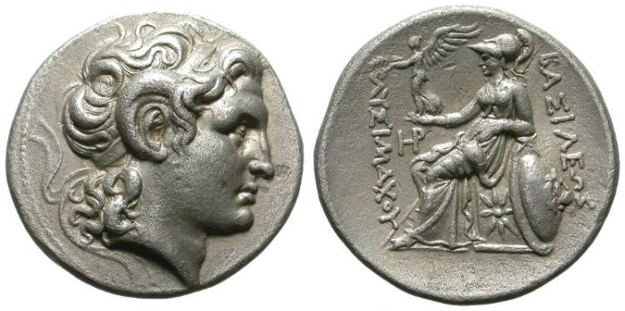 Ancient Coins - LYSIMACHOS. TETRADRACHM. SUPERB STYLE. BEAUTIFUL COIN !