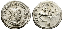 Ancient Coins - PHILIP I. AD 244-249. AR ANTONINIANUS. NICE BUST AND GOOD CONDITION/2