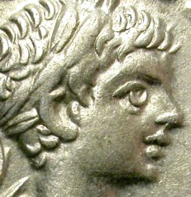 Ancient Coins - CARACALLA. SILVER DENARIUS. ATTRACTIVE BUST. GOOD QUALITY.
