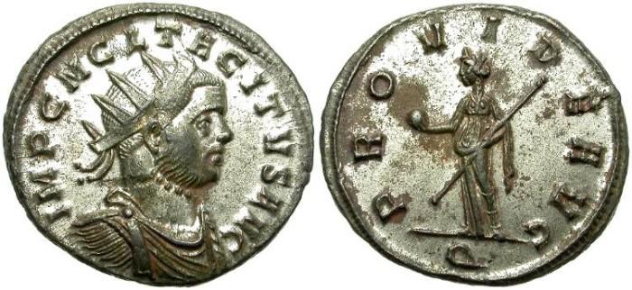 Ancient Coins - TACITUS. BILLON ANTONINIANUS. NICE CONDITION !