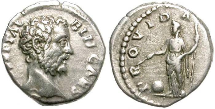 Ancient Coins - CLODIUS ALBINUS. DENARIUS. NICE BUST. AFFORDABLE.