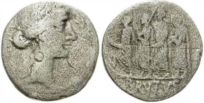 Ancient Coins - FILLING THE HOLE. BRUTUS. SILVER DENARIUS. M. IUNIUS BRUTUS. WEAK BUT SUPER PRICE !