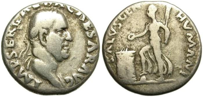 Ancient Coins - GALBA. SILVER DENARIUS. ROMA MINT. SCARCE  AND ECONOMIC.