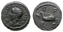 Ancient Coins - TRANQUILLINA. AE18. DEULTUM IN TRACE. RARE AND NICE
