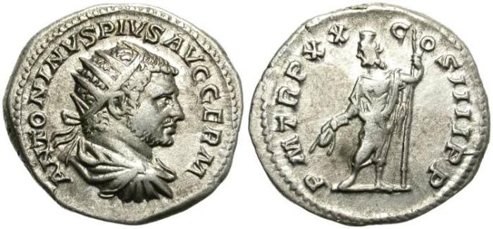 Ancient Coins - CARACALLA.  ANTONINIAN.  198 - 217 A.D. ATTRACTIVE  COIN.