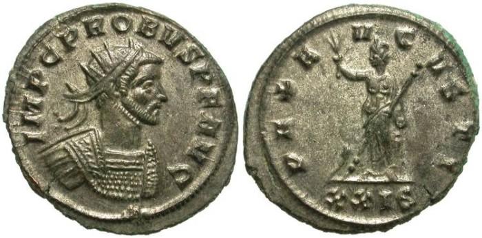 Ancient Coins - PROBUS.  AE  ANTONINIANUS.  SISCIA  MINT. NICE  PORTRAIT.