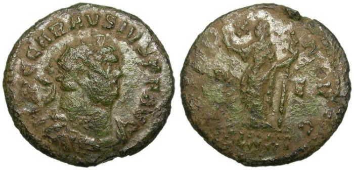 Ancient Coins - CARAUSIUS. AE ANTONINIAN. USURPER IN BRITAIN. AFFORDABLE SCARCITY