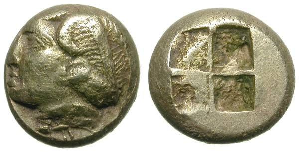Ancient Coins - PHOKAIA. ELECTRUM HECKTE. NICE AND ATTRACTIVE