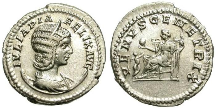Ancient Coins - IULIA DOMNA. AG ANTONINIAN. SPLENDID ISSUE !