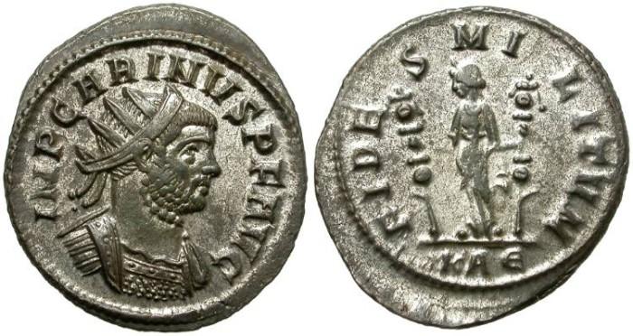 Ancient Coins - CARINUS. BILLON ANTONINIANUS. ROME MINT. NICE COIN