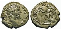 Ancient Coins - Septimius Severus. Denarius. Victory.