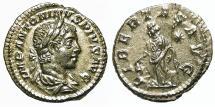 Ancient Coins - Elagabalus. Denarius. Libertas.