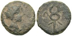 Ancient Coins - Laconia, Lacedaemon (Sparta). Agrippa. Æ Sextans(?) VERY RARE.