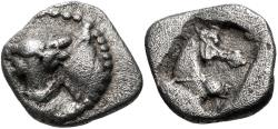 Ancient Coins - Thessaly, Larissa. AR Obol. Ex BCD Collection.