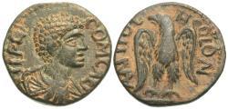 Ancient Coins - Pisidia, Antiochia. Commodus, as Caesar. Æ 16 mm.