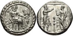 Ancient Coins - Cilicia, Tarsos. Datames. Satrap Of Cilicia and Cappadocia. AR Stater.