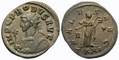 Ancient Coins - Probus. Antoninianus. Salus. Ticinum Mint.