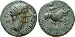 Ancient Coins - Macedon, Amphipolis. Æ 22 mm. Divus Augustus. Struck under Tiberius.