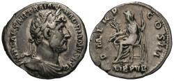 Ancient Coins - Hadrian. AR Denarius. Libertas.