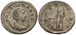 Ancient Coins - Salonina. Wife Of Gallienus. Antoninianus. Juno.