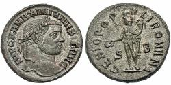 Ancient Coins - Maximianus. Follis. Genius. Sharp.