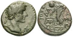 Ancient Coins - Phrygia, Prymnessus. Augustus. Æ 17 mm. Dikaiosyne.