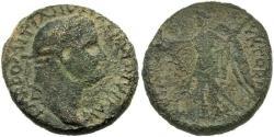 Ancient Coins - Samaria, Caesarea Maritima. Domitian. Nike.