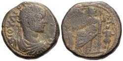 Ancient Coins - Judaea, Raphia. Philip II. Æ 22 mm. VERY RARE.