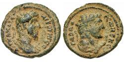Ancient Coins - Syria, Decapolis. Gadara. Lucius Verus. Æ 27 mm. Hercules.