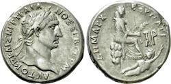 Ancient Coins - Cilicia, Tarsus. Trajan. AR Tetradrachm.