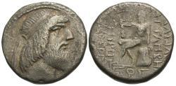 Ancient Coins - Kings of Characene. Attambelos II. BI Tetradrachm.