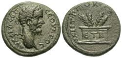 Ancient Coins - Cappadocia, Caesarea. Septimius Severus. Æ 24 mm. Altar.