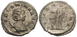 Ancient Coins - Salonina. Antoninianus. Juno.
