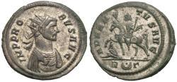 Ancient Coins - Probus. R Antoninianus. Emperor on Horseback.