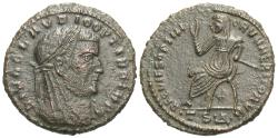 Ancient Coins - Divus Claudius II Gothicus. Æ Fractional Follis. Struck Under Constantine I,