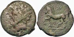 Ancient Coins - Kings Of Numidia. Micipsa. Æ 26 mm. Horse Galloping. Nice For Type.