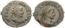 Ancient Coins - Aurelian & Vabalathus. Antoninianus. Choice For Type.
