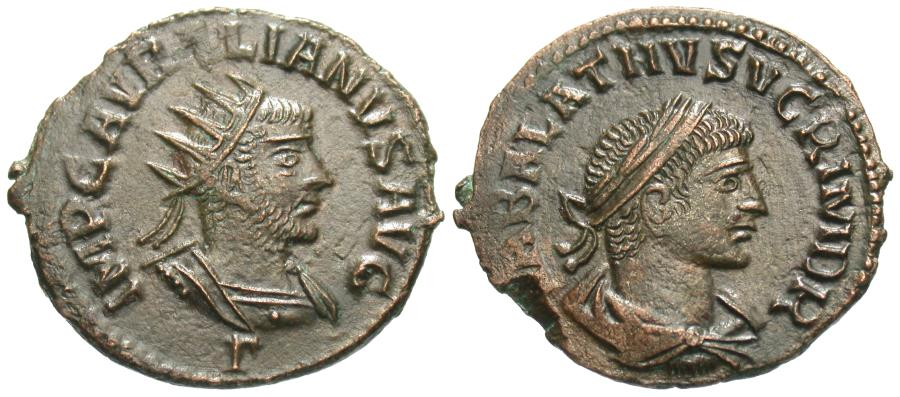 Ancient Coins - Aurelian & Vabalathus. Antoninianus. Choice For Type.