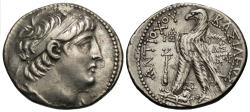 Ancient Coins - Seleukid Kings of Syria. Antiochos VII Euergetes. AR Tetradrachm.