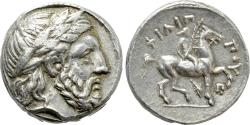 Ancient Coins - Kings of Macedon. Kassander, as Regent. In The Name & Types of Philip II. AR Tetradrachm.