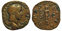 Ancient Coins - Severus Alexander. Sestertius. Spes.