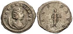 Ancient Coins - Salonina. Antoninianus. Salus.