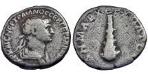 Ancient Coins - Caesarea, Cappodocia. Trajan. Didrachm. Club.