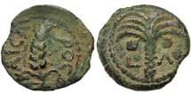 Ancient Coins - Marcus Ambibulus. Prefect Under Augustus. Prutah.